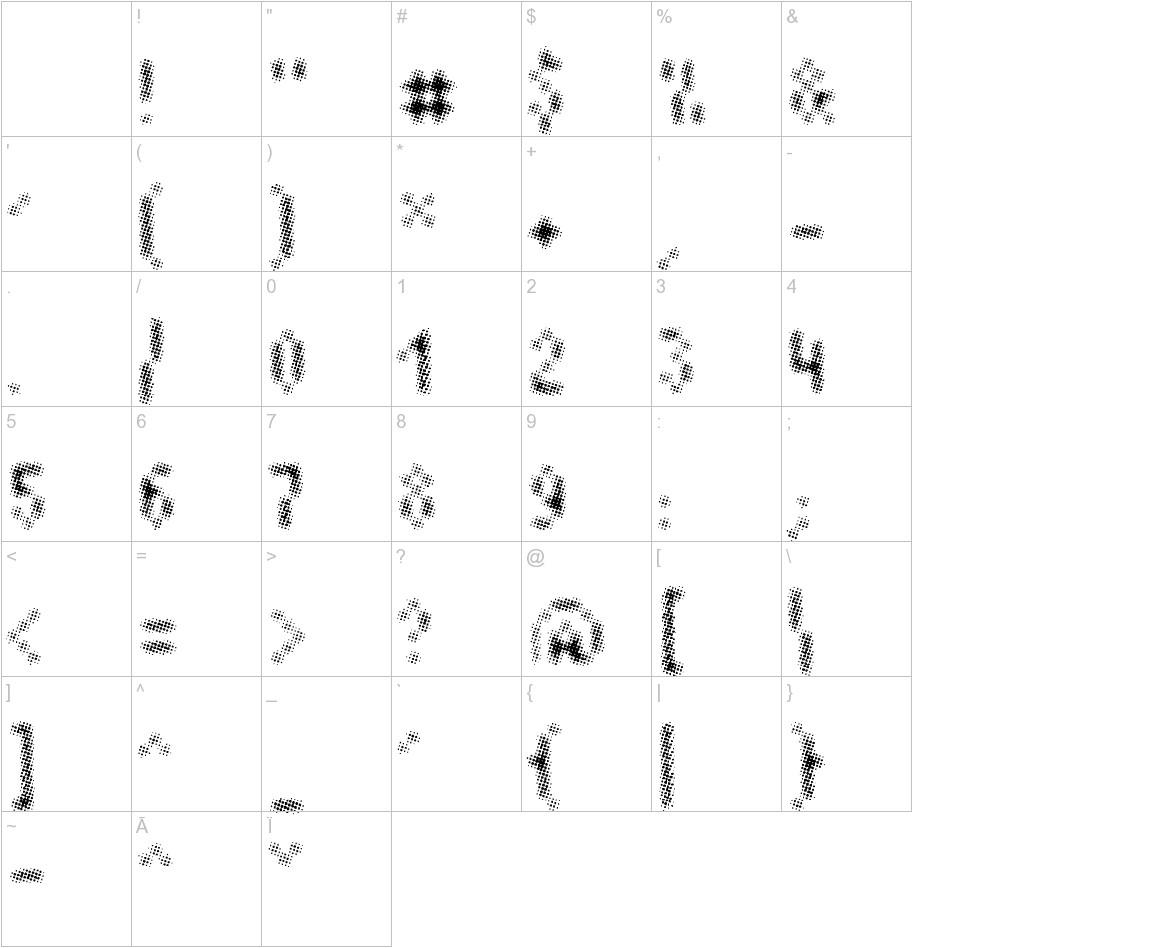 Plaq 108 characters