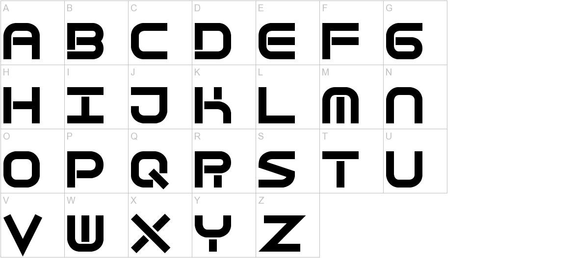 Quantum Flat (BRK) uppercase
