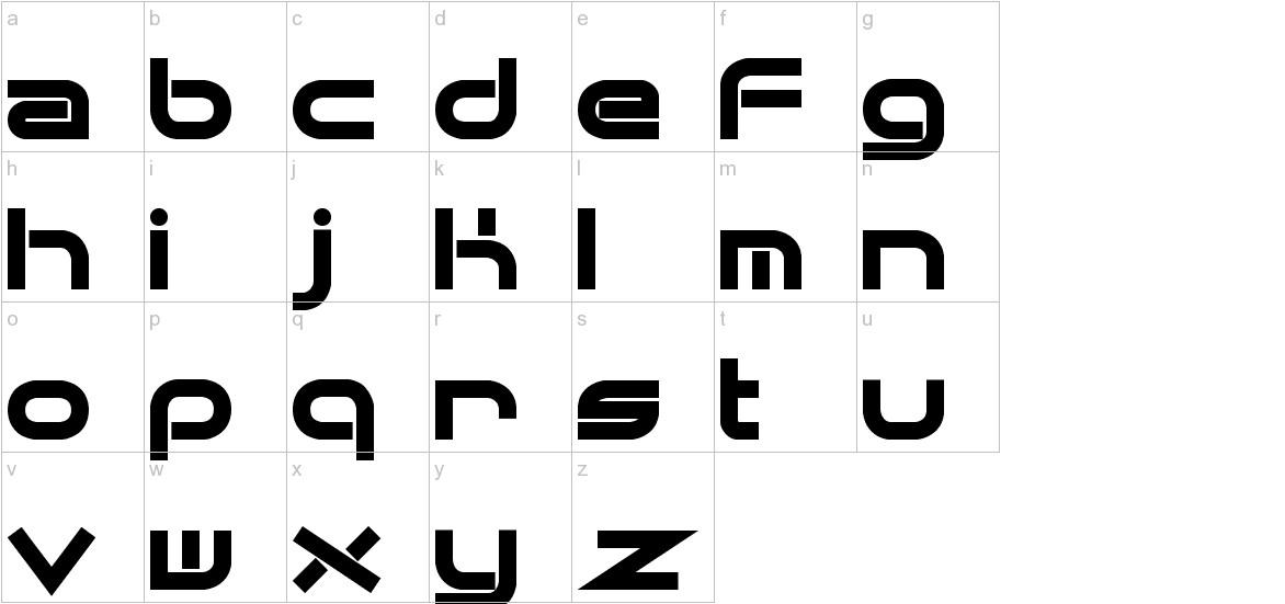 Quantum Flat (BRK) lowercase