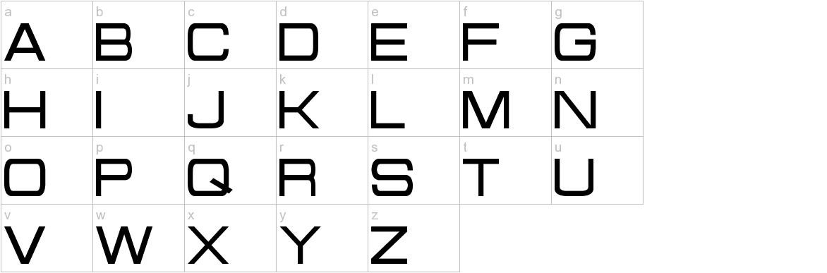 Probert lowercase