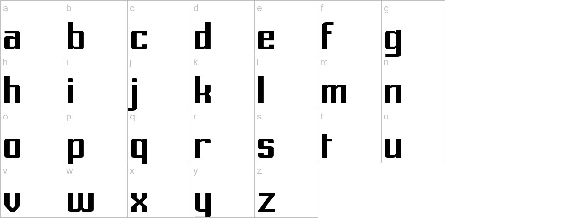 Prussian Brew Solid lowercase