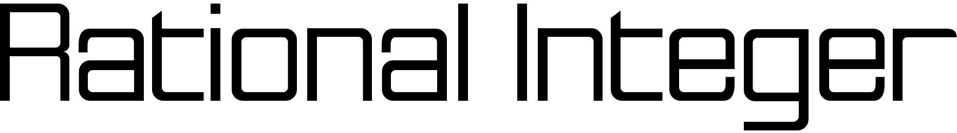 Rational Integer