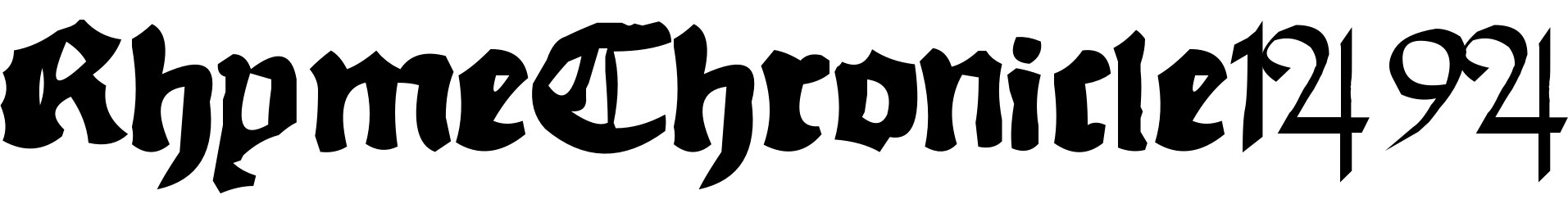 RhymeChronicle1494