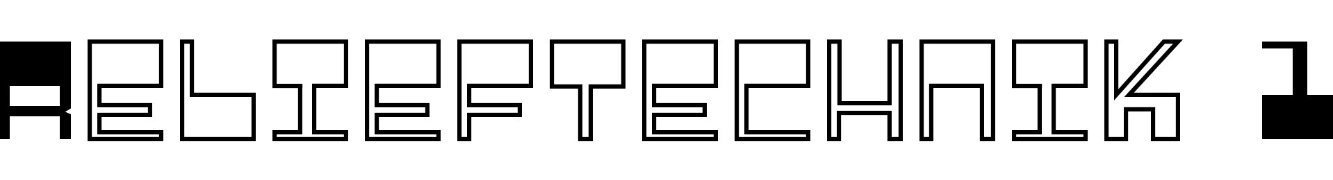 Relieftechnik 1