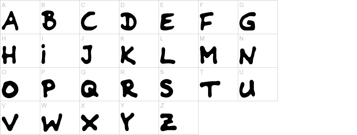 Riddleprint uppercase