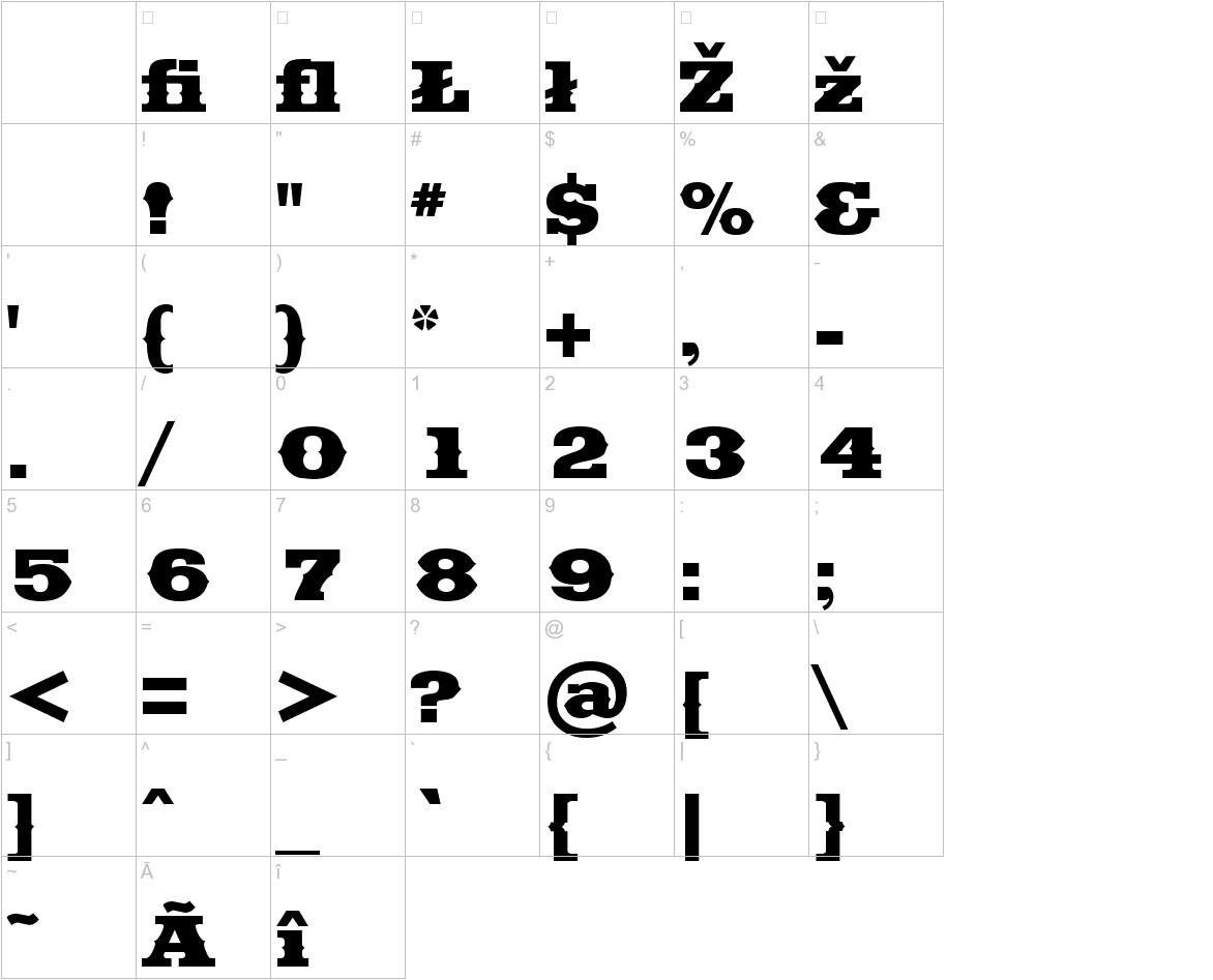 Saddlebag Black characters