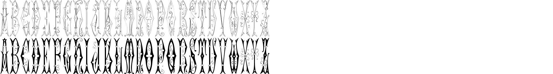 Sajou Fancy Gothic