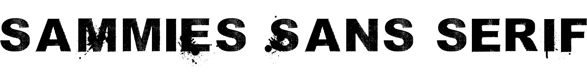 saMmiEs Sans serIf