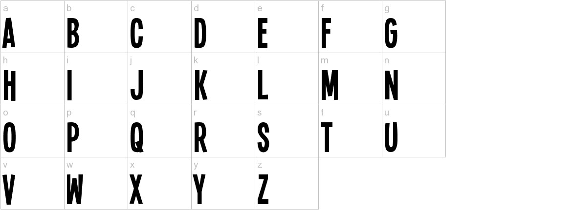 Single Sleeve lowercase