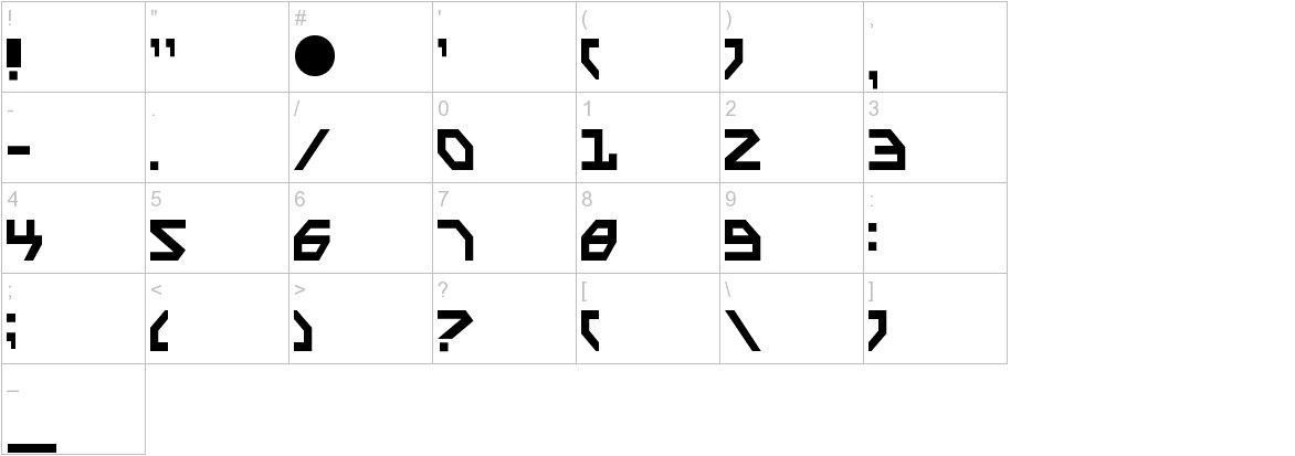 scarabscript characters