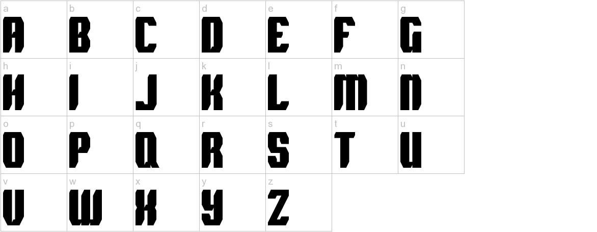 Spyh lowercase