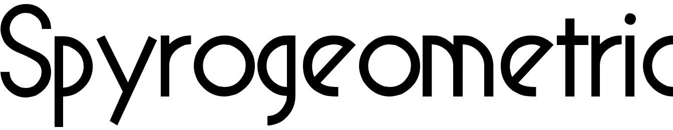 Spyrogeometric