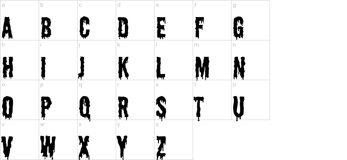 Shlop lowercase