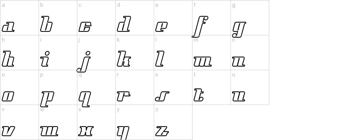 StyleLiner lowercase