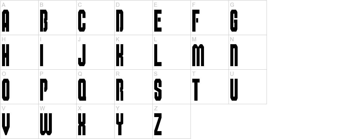 Super Mario Bros Alphabet uppercase