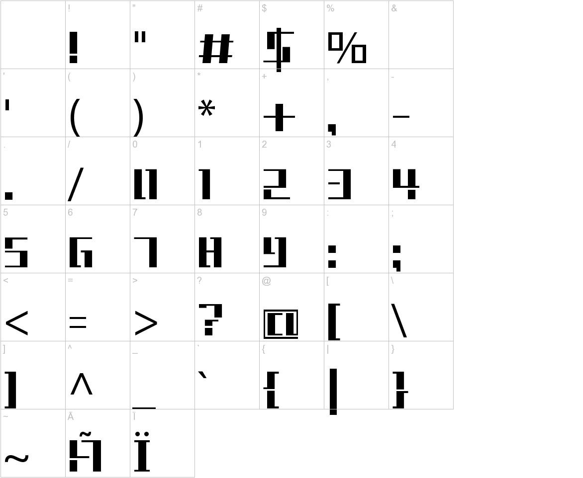 Tetris characters