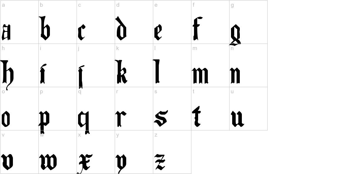 The Art of Illuminating lowercase