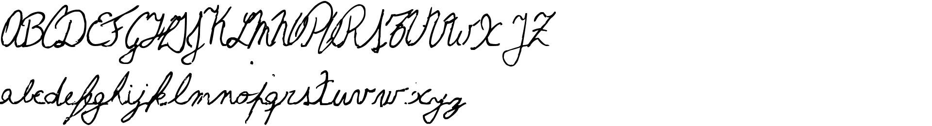 The Left-Handed Cursiva Cursiva