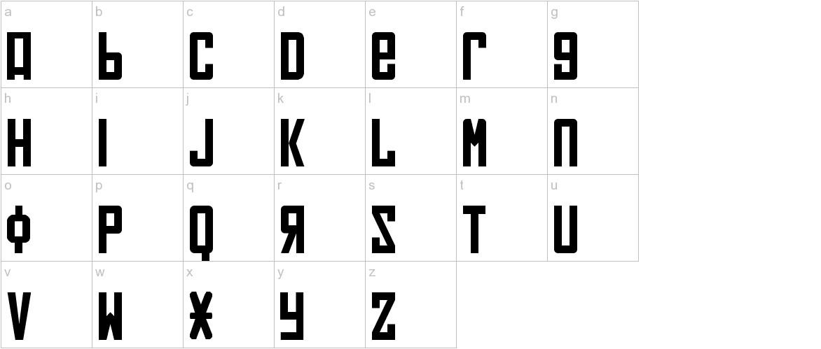 Soviet lowercase