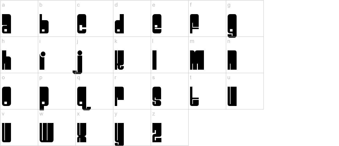 Spacebeach lowercase