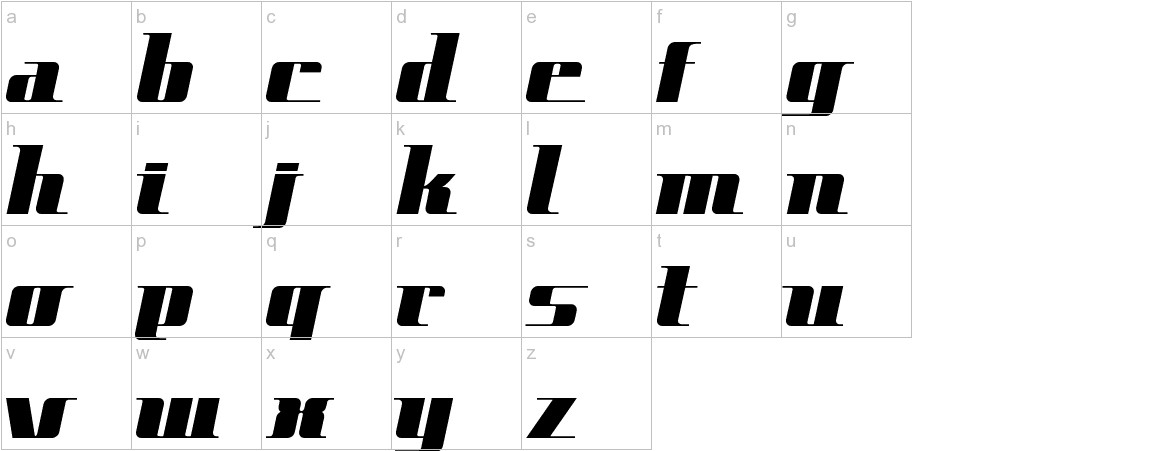 SpaceCadet lowercase