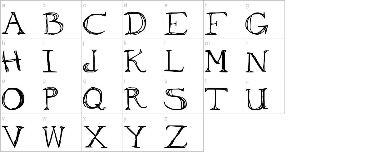 to ogle lowercase