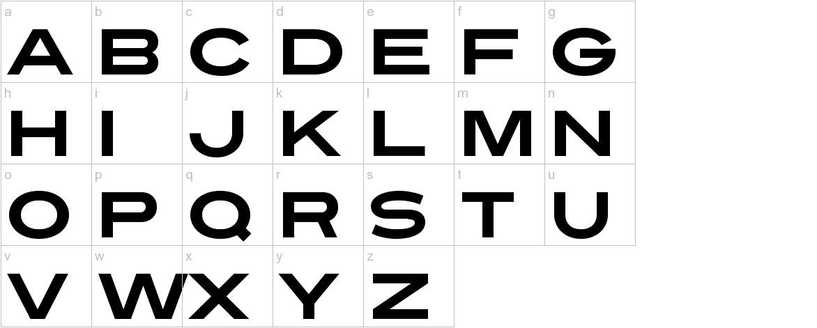 Turnpike lowercase