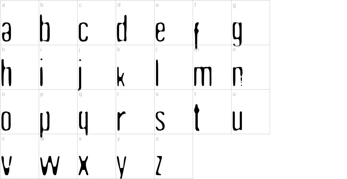 Undo35 lowercase