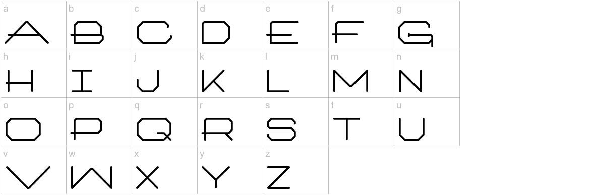 Architext lowercase