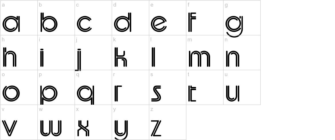 UptightC lowercase
