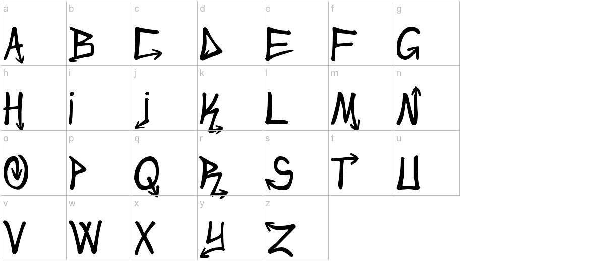 Urban&Slick lowercase