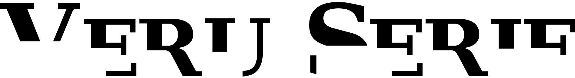 Veru Serif