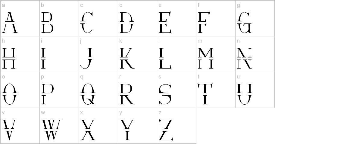Via-A-Vis lowercase