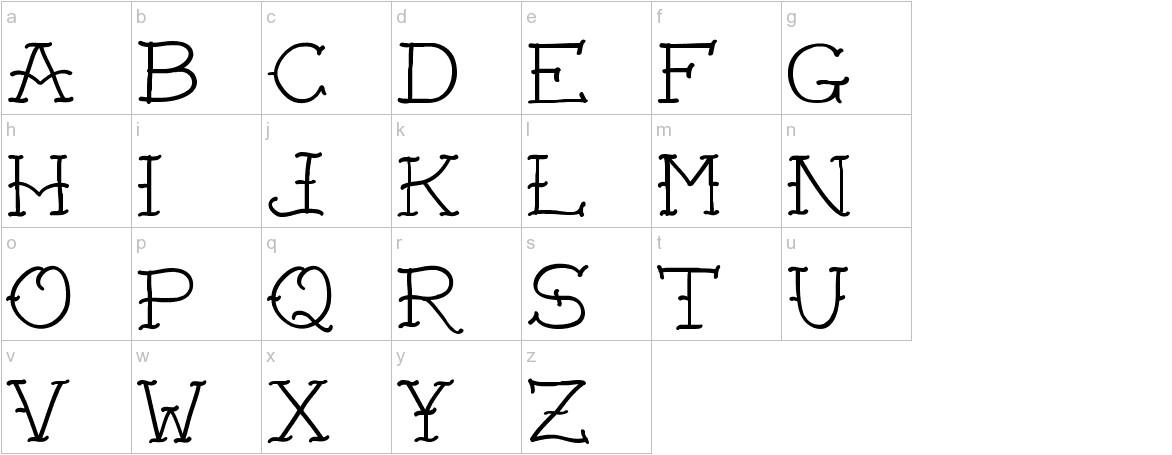 VTC-FreehandTattooOne lowercase
