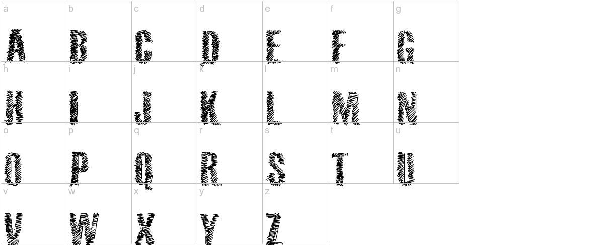 VTKS 36 lowercase
