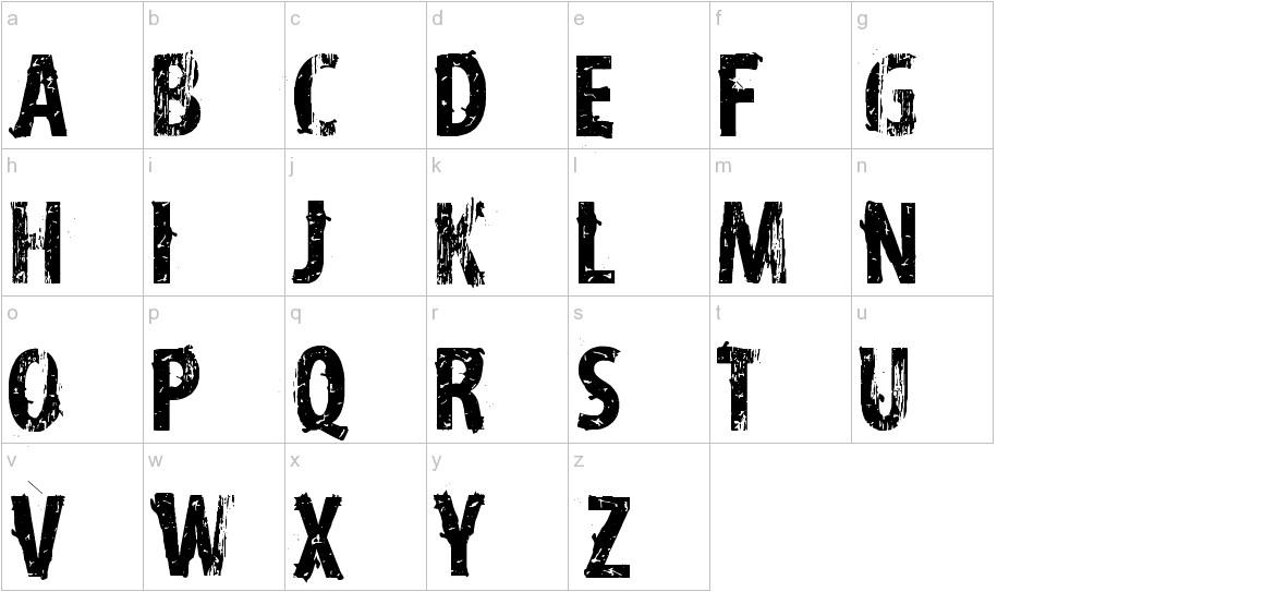 vtks distress lowercase