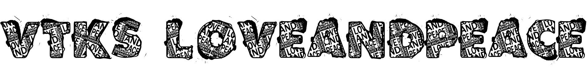 VTKS LOVEANDPEACE