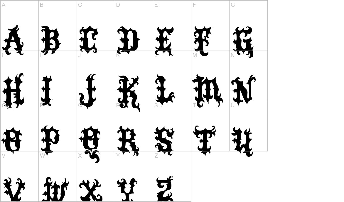 VTKS Tattoo uppercase