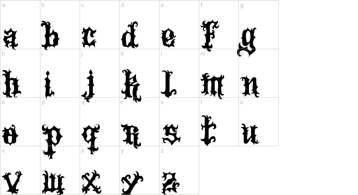 VTKS Tattoo lowercase