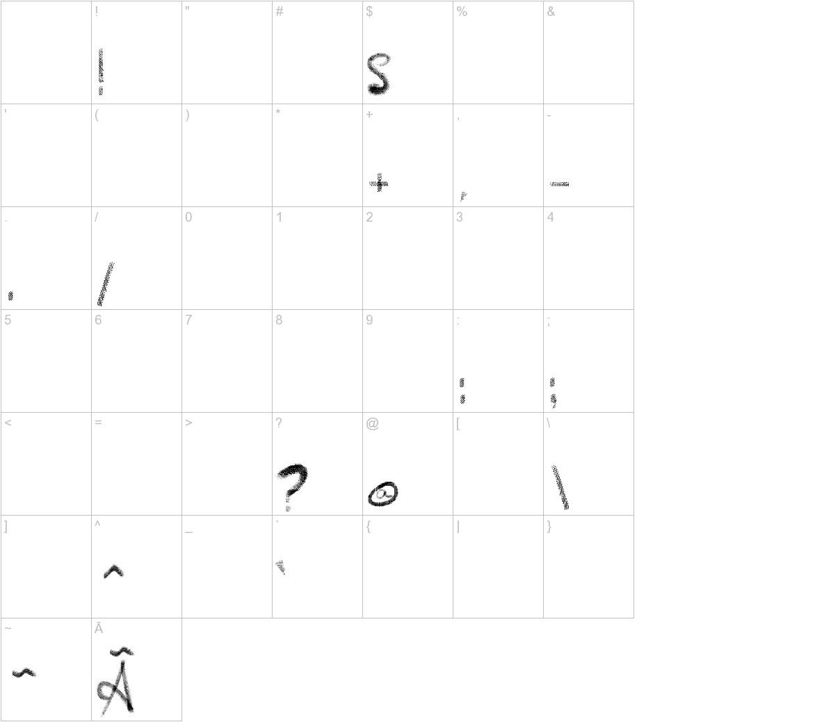 Vtks Vinte e Cinco characters