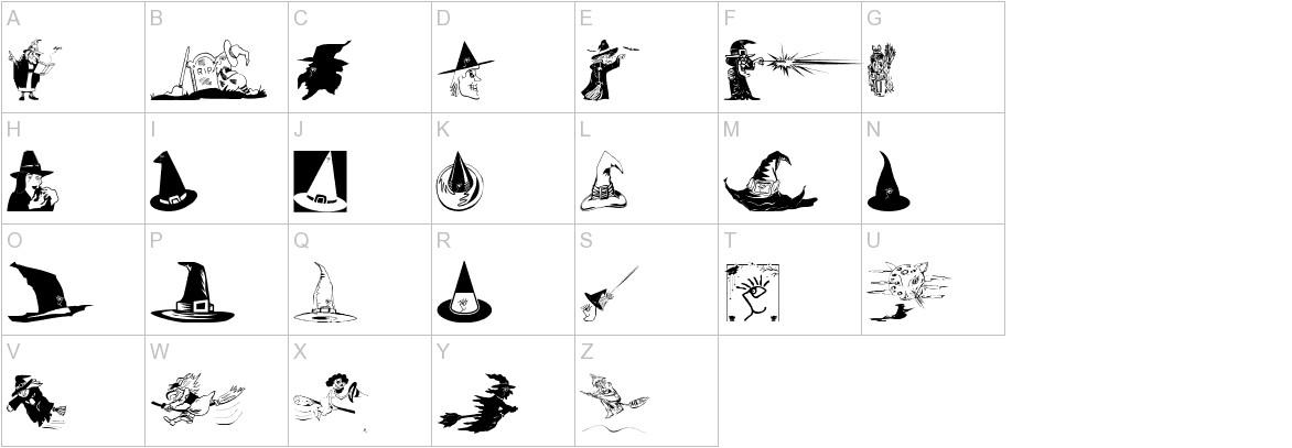 WitchesStuff uppercase