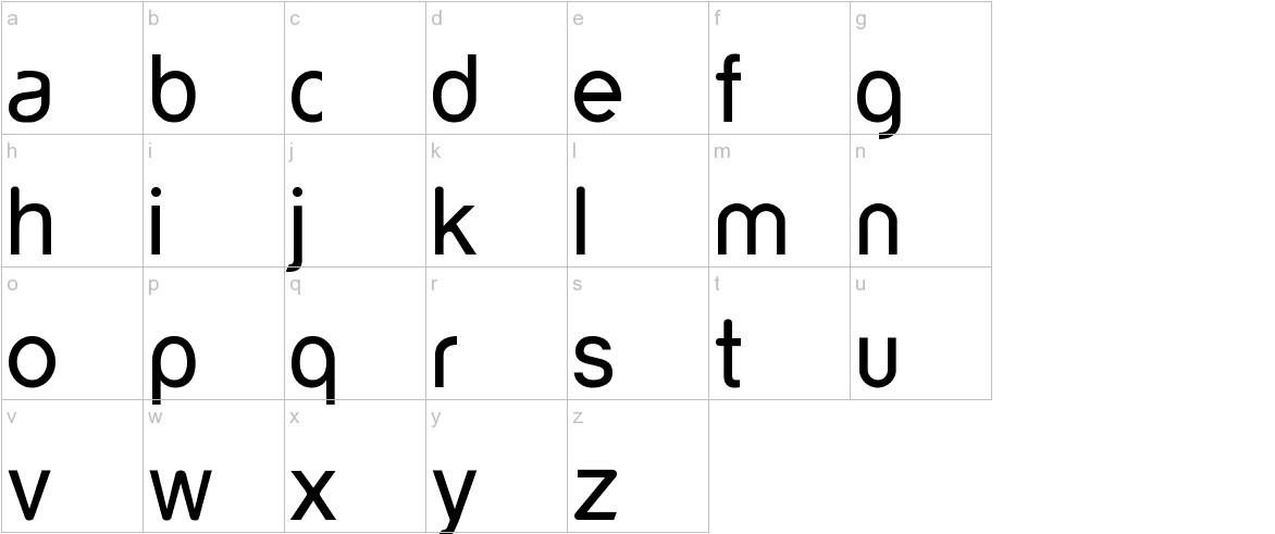 yorkville lowercase