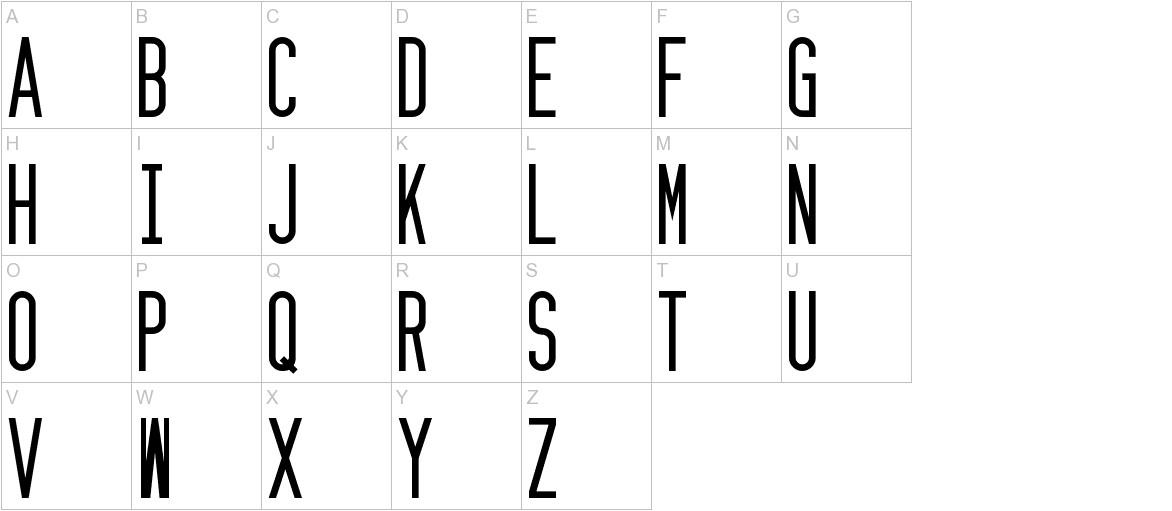 Zzyzx uppercase