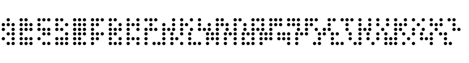 3x3 dots