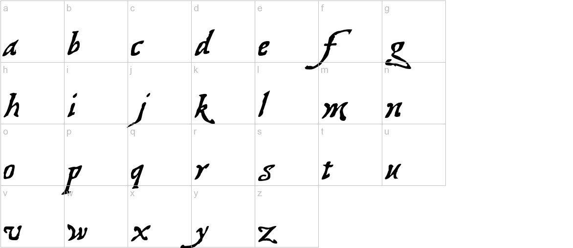Treasure Map Deadhand lowercase