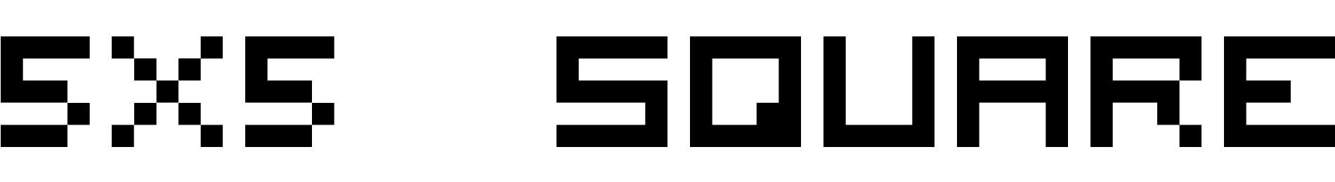 5x5 square