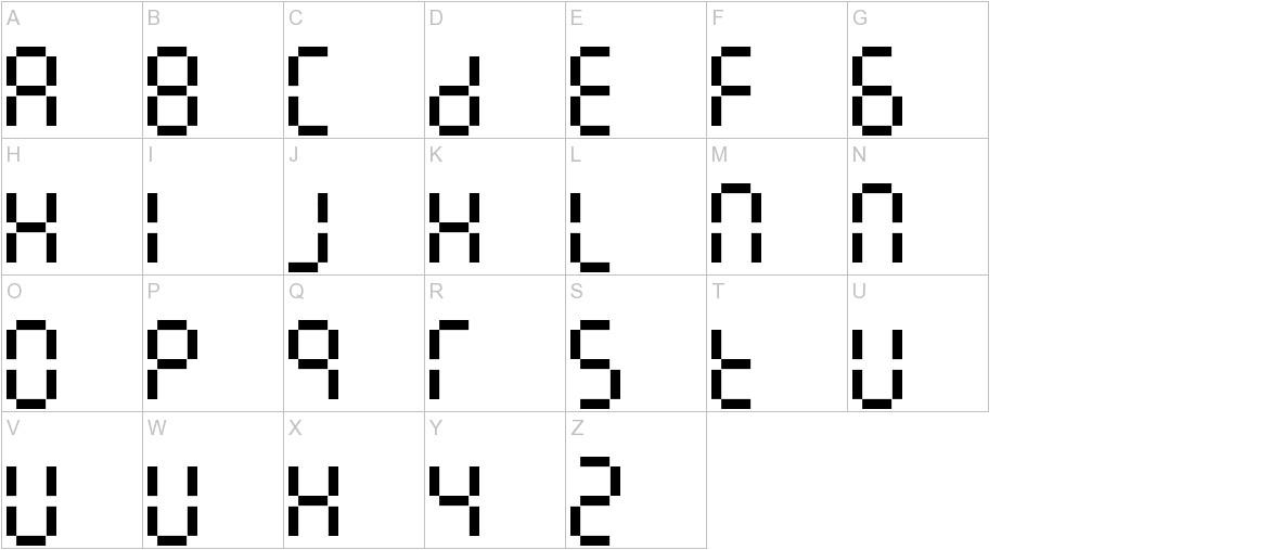 7LineDigital uppercase