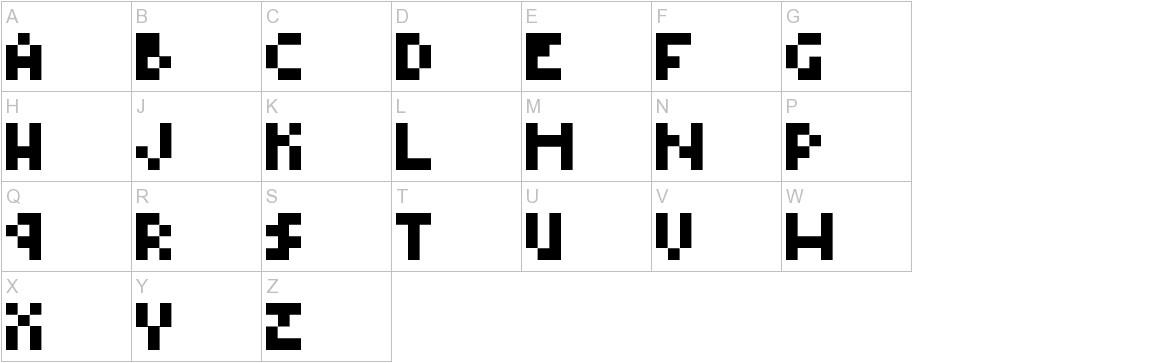 Type Four uppercase