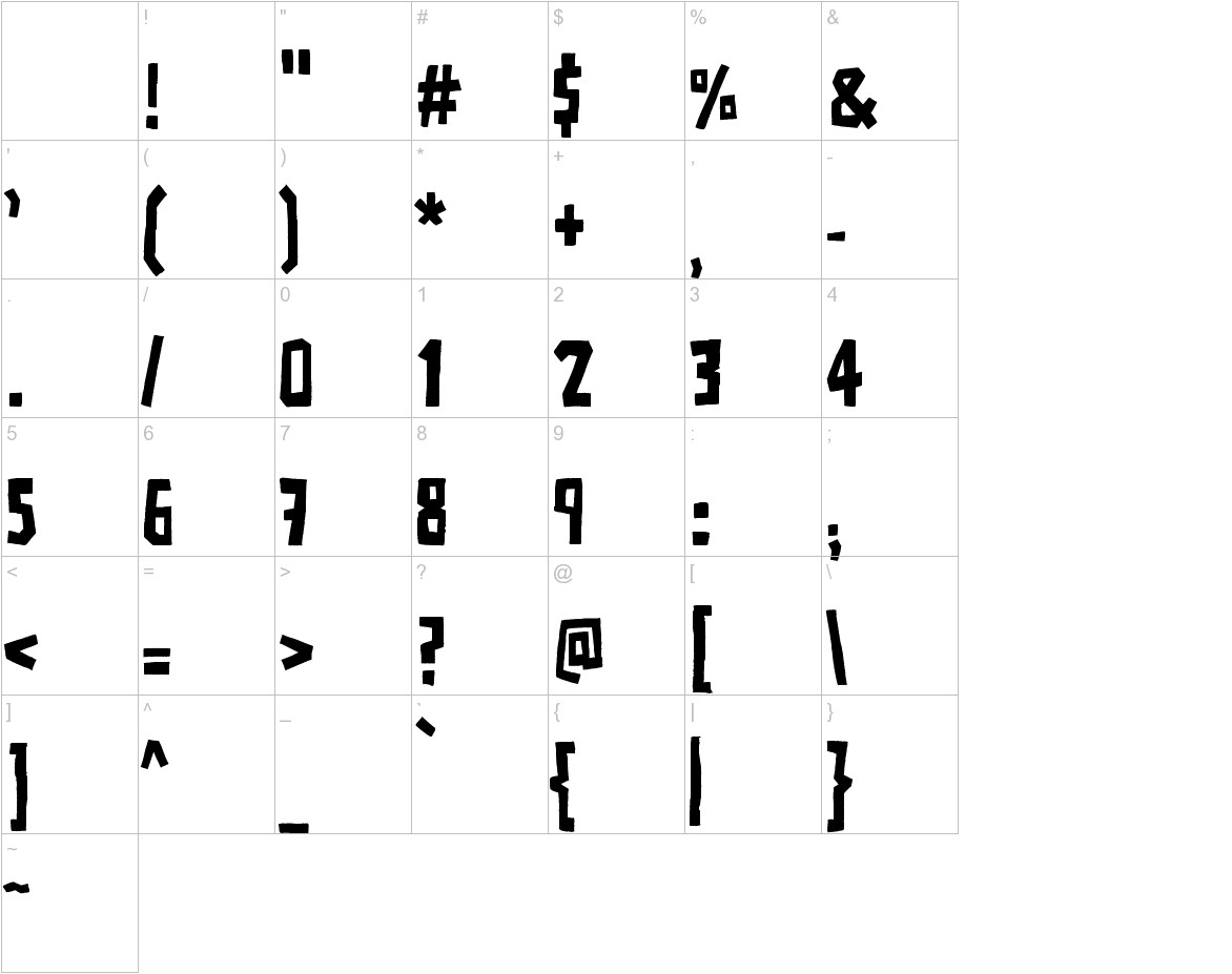 ADPolaquita characters