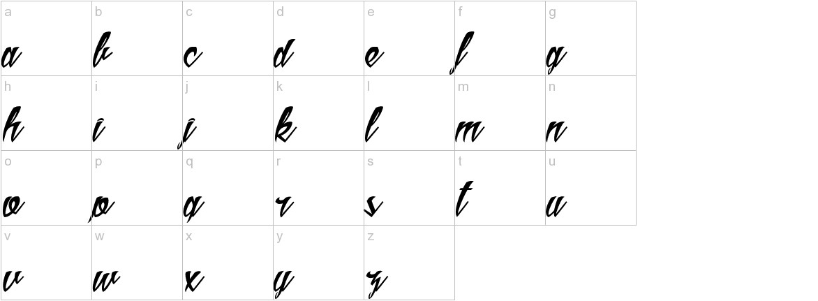 Aldebaran lowercase